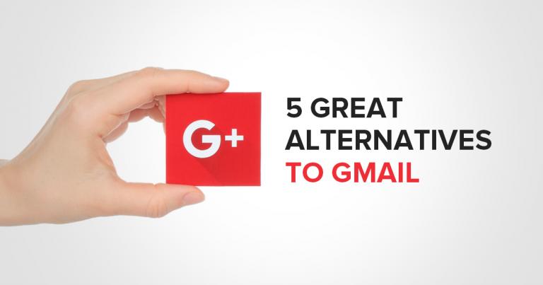 5 skvělých alternativ Gmailu