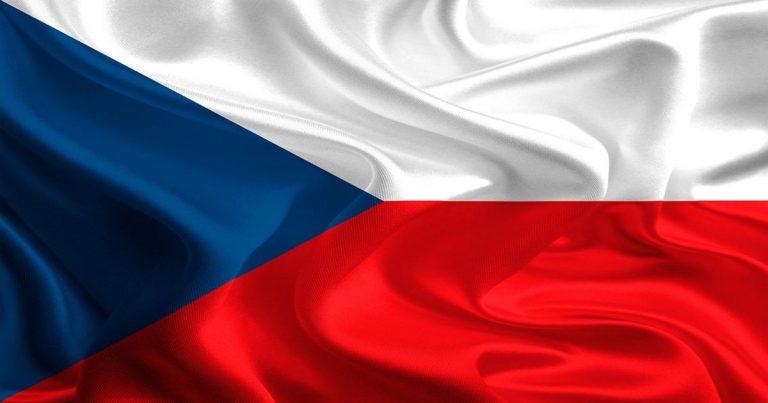The Czech Republic's Flag